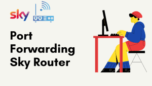 port forwarding sky router