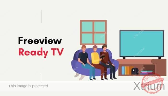 set up freeview on freeview ready tv