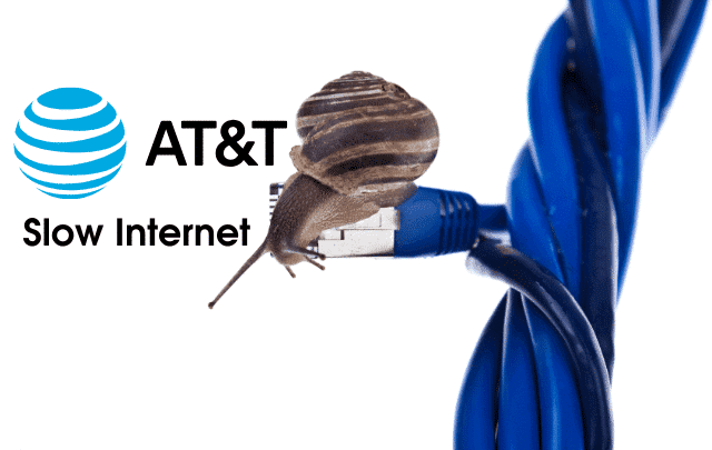 why at&t internet is so slow