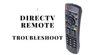 directv remote not working