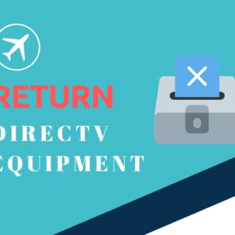 how to return directv equipment