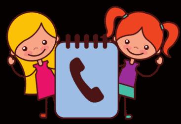 girl use phone