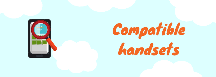 compatible handsets
