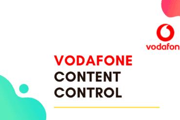 vodafone content control