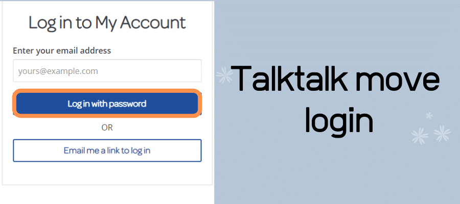 talktalk move login