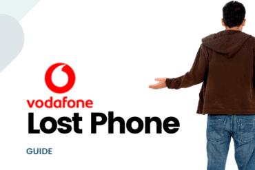 vodafone lost phone