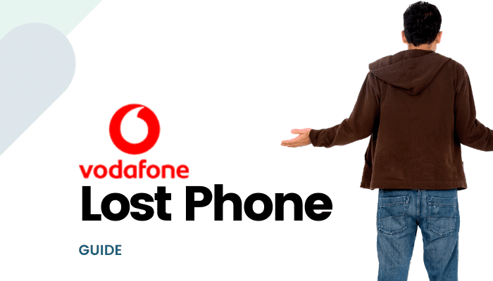 vodafone lost phone