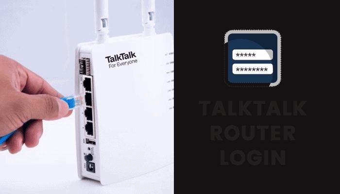 talktalk router login