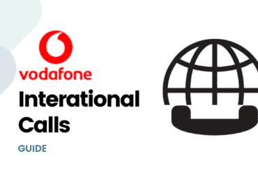 vodafone international calls