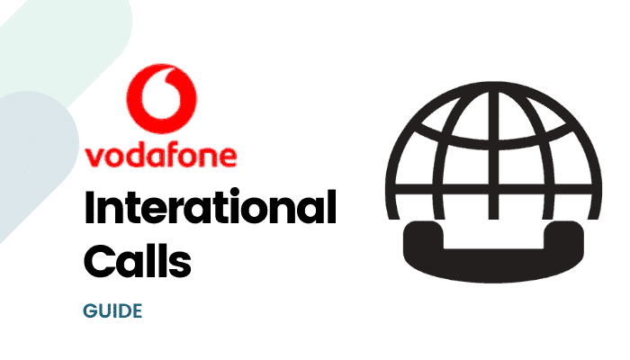 vodafone international calls
