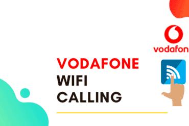 how do i turn on vodafone wifi calling uk