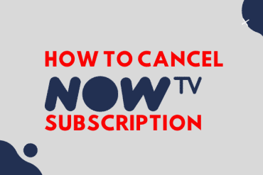 how to cancel now tv subscription