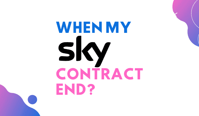 when does my sky contract end