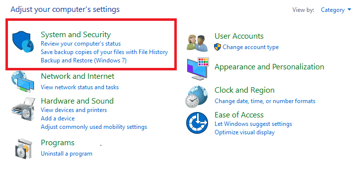 Turning Off Firewall