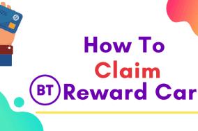 claim bt reward card