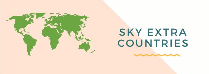 sky talk extra countries