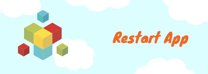 restart app now tv