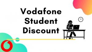 vodafone student discount
