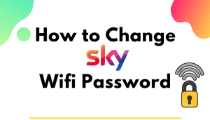 how to change sky wifi password