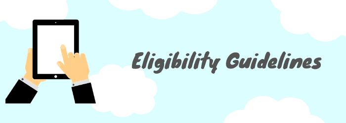 eligibility guidlines