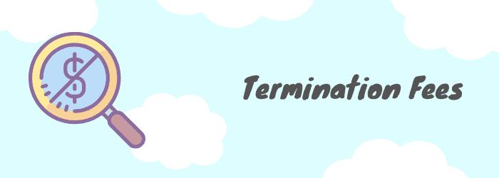 early termination fee vodafone
