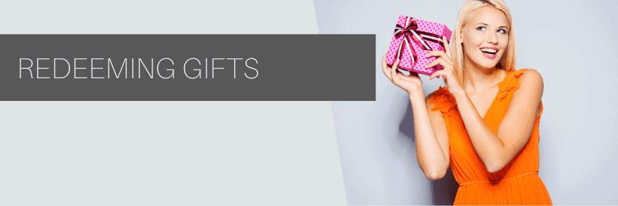 redeeming gifts