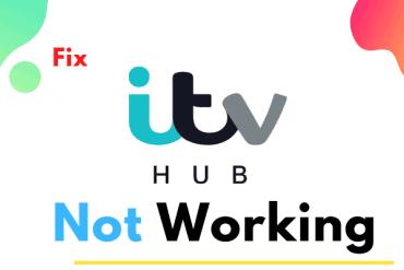 itv hub not working