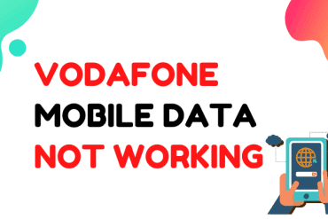 vodafone mobile data not working