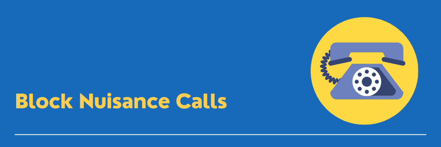 how to block nuisance calls on landline