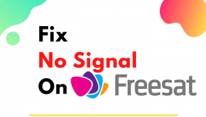 freesat no signal