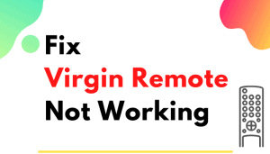 virgin remote not working