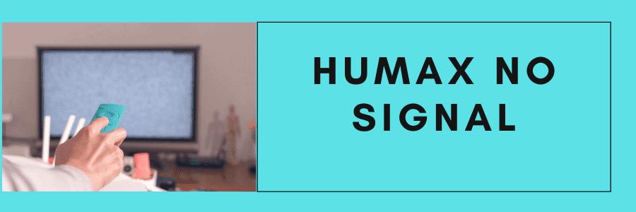 humax freesat no signal help