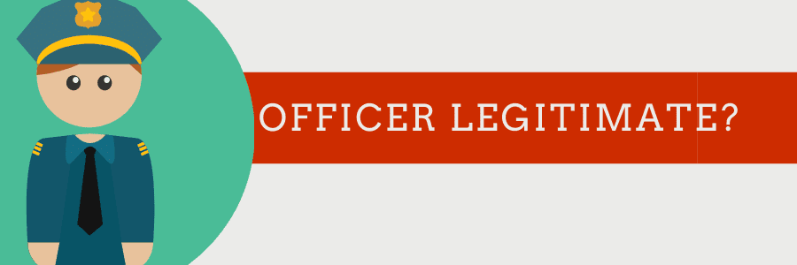 officer legitimate