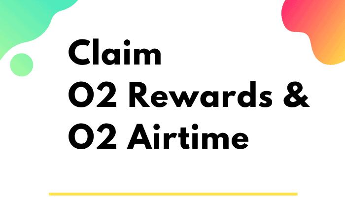 how to claim o2 rewards