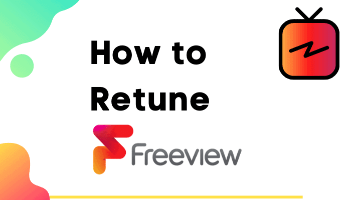 how to retune freeview