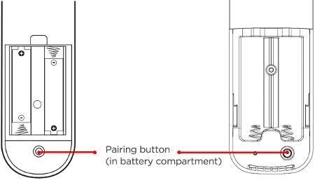 roku pairing button