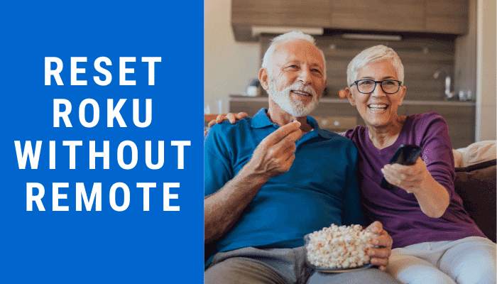 how to reset roku without remote