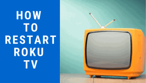 how to restart roku tv