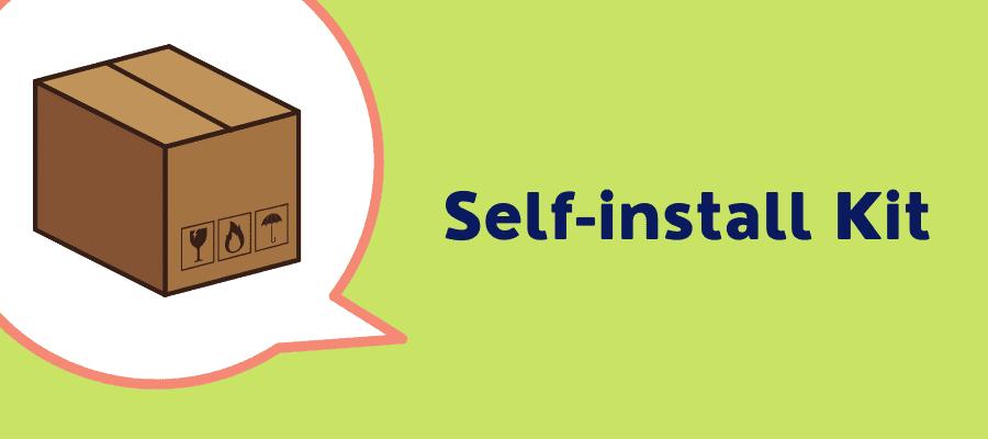 xfinity self installation kit