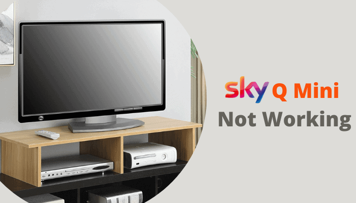 sky q mini box not working