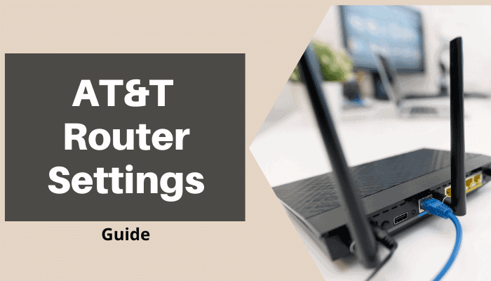 at&t router settings