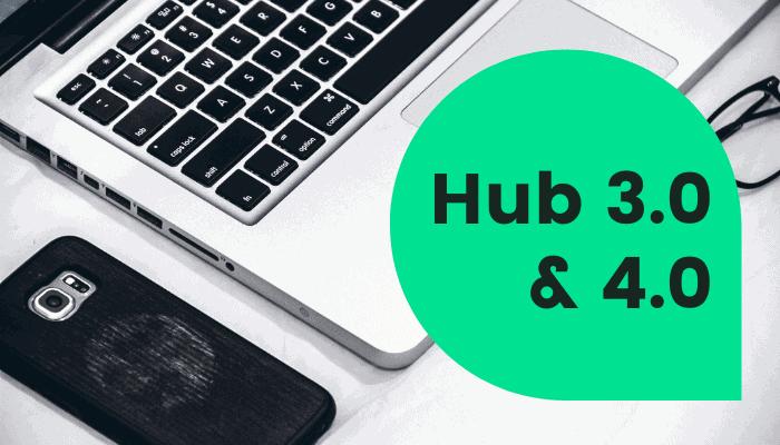 hub 3 &4 change wifi password
