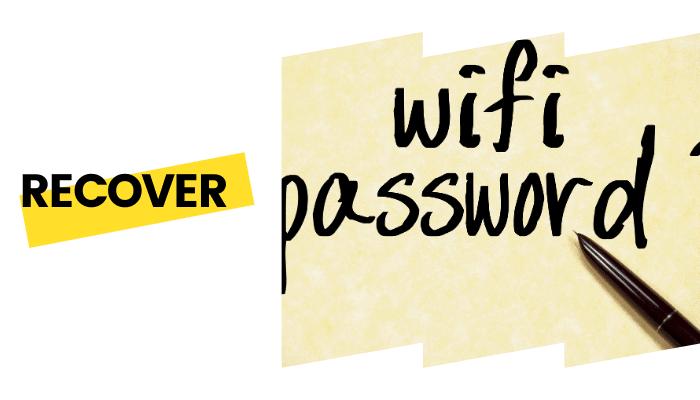 recover bt wifi password