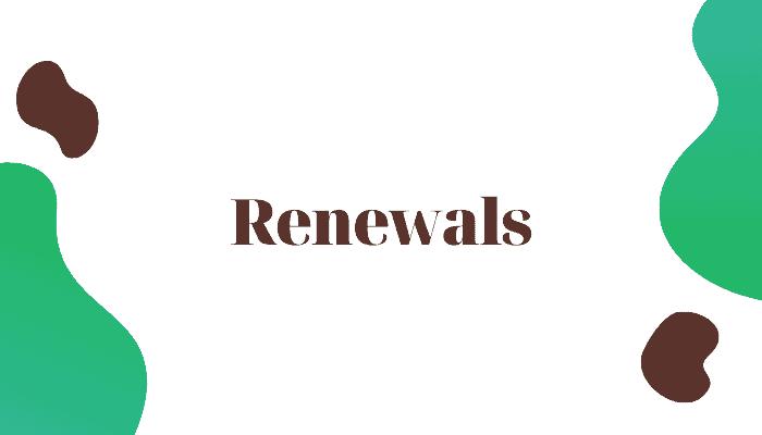 tv licence renewals