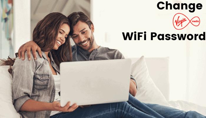 change virgin media wifi password