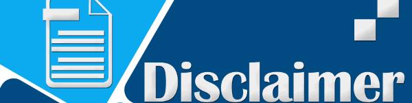 xtrium disclaimer
