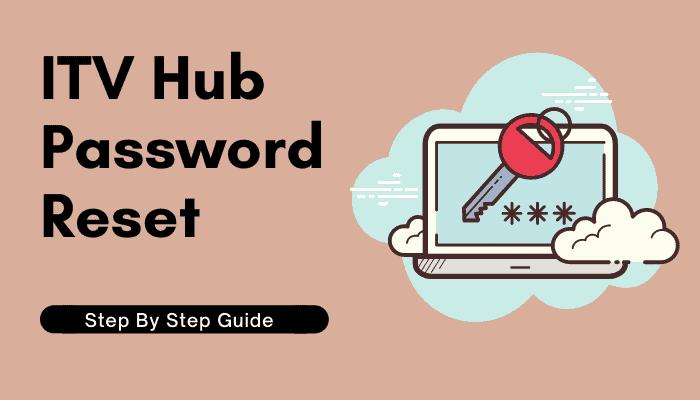 itv hub password reset