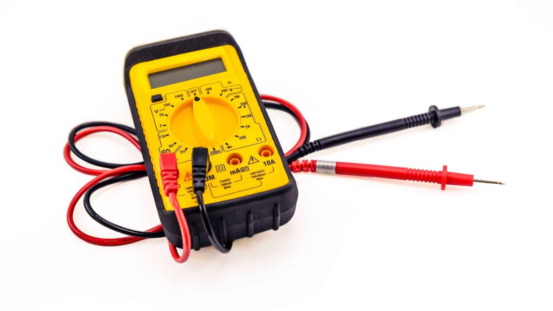 voltmeter to check phoneline