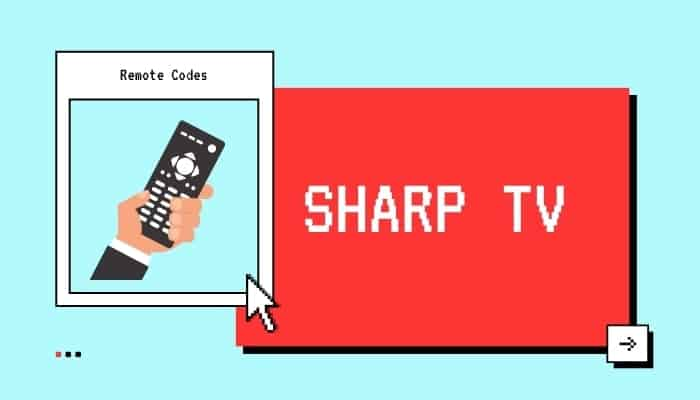 sharp tv codes for sky remote