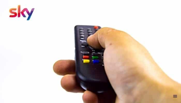sky q remote code